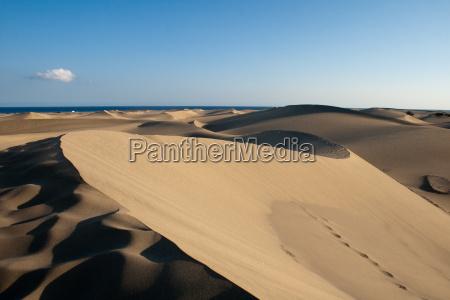 deserto sentir quente duna areias areia