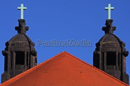 igreja cruz dresda campanario estilo de