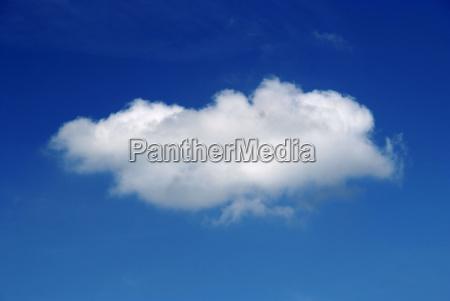 nuvem de ceu azul
