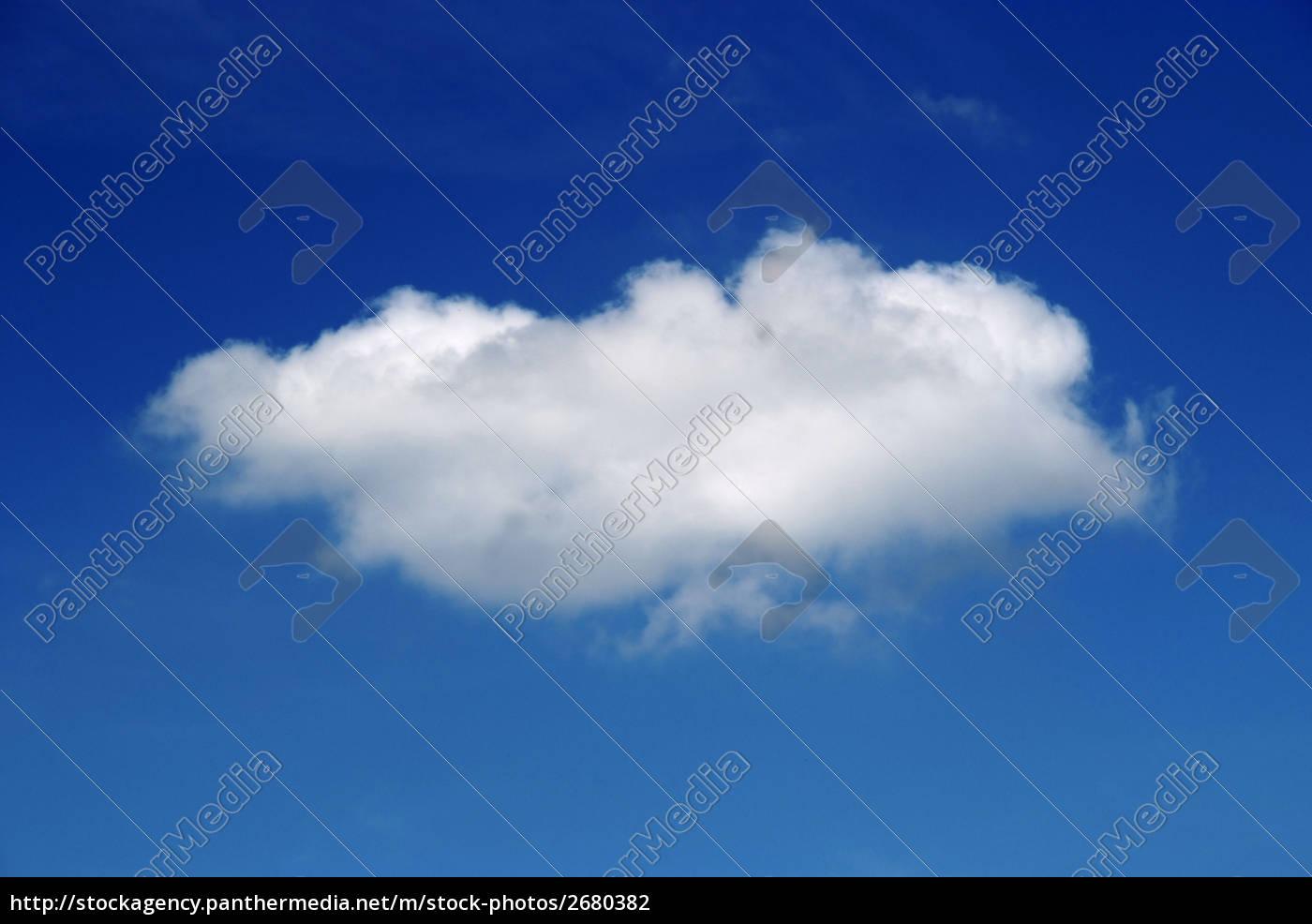 blau, himmel, wolke - 2680382