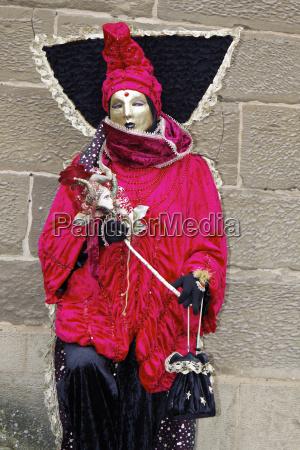 veneza mascaras carnaval trajes traje