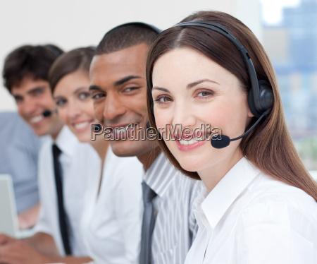 mulher telefone pessoas povo homem escritorio