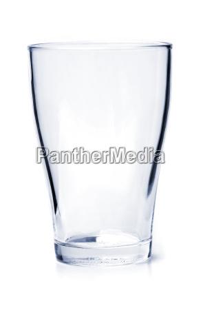 vidro bebendo vazio