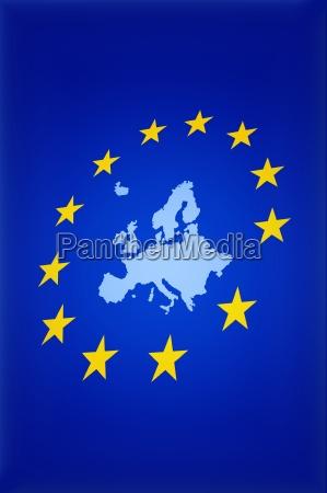 mapa da uniao europeia