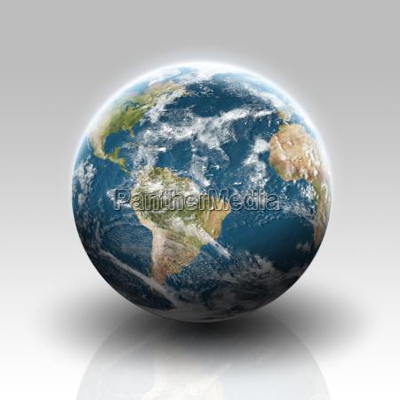 ilustracao da visao do planeta terra