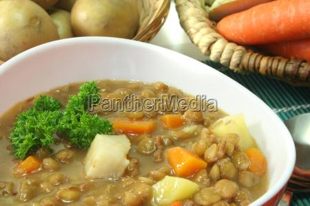 lente salsa casa prato sopa