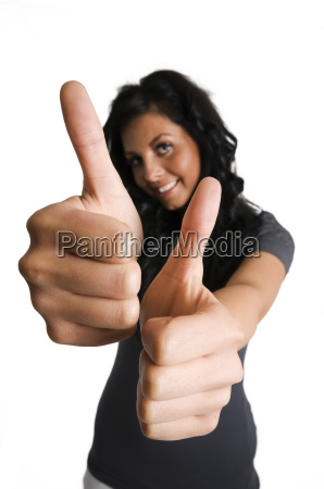 two thumbs left