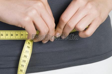 measuring tape near