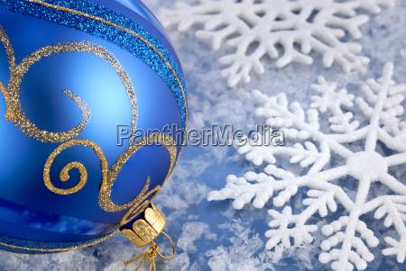 alegria de inverno em azul