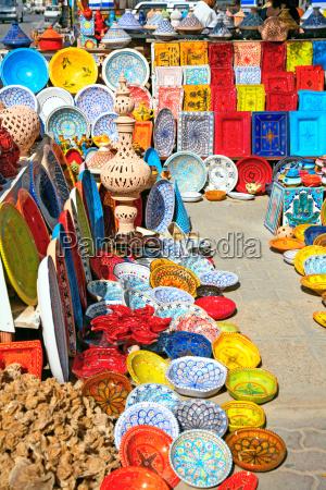 africa tunisia chapa tradicional bazar gres