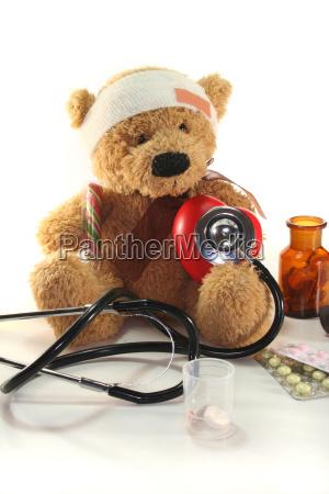 medico estetoscopio doencas de criancas doenca