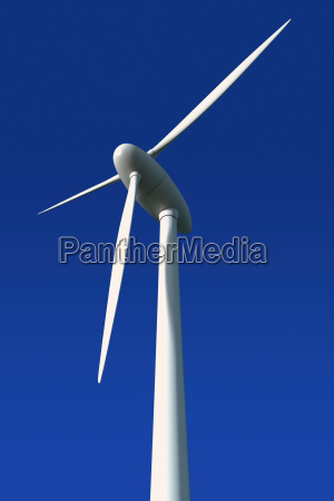turbina de vento na frente de