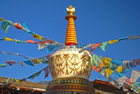 cidade asia tibete china himalaia
