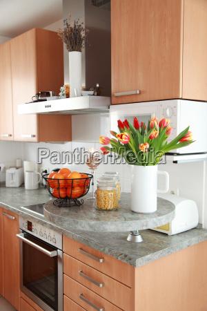 mobiliario espaco interior cozinha casa partido