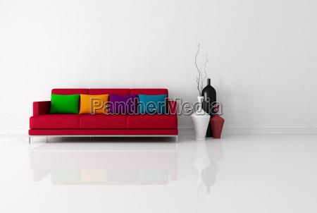 brigh sala de estar minimalista