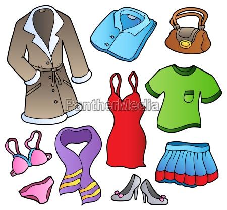moda roupa vestir revestimento filme vestidos