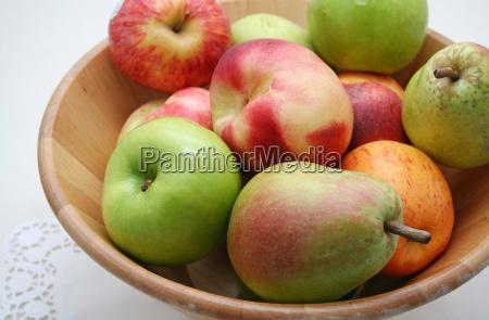 alimento frutas fruta macas maca peras