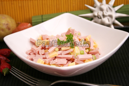 alimento queijo carne salsicha