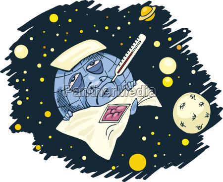 ilustracao globo terra globalmente desenho animado