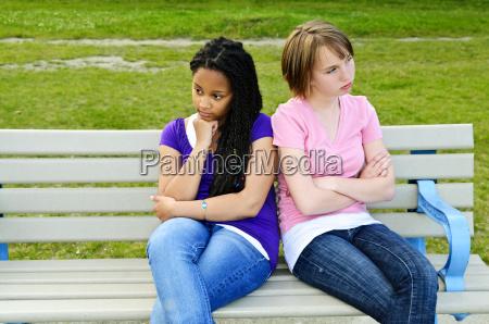 bored teenage girls