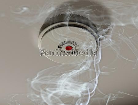 perigo seguro fogo proteger seguranca detetor