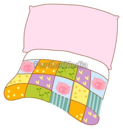 colcha travesseiro