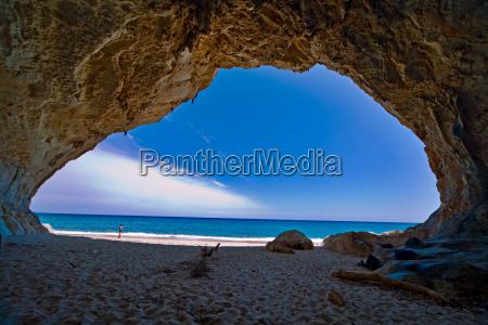 azul ferias ceu caverna liberdade sardenha