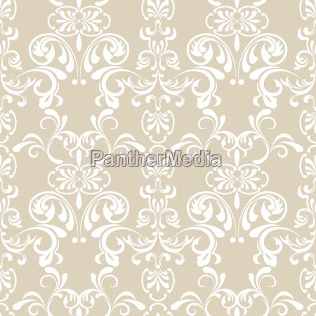 teste, padrão, floral, sem, emenda - 4989673