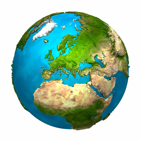 planeta terra europa