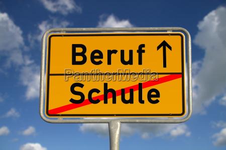 profissão, sinal, cidade, alemã - 5166531