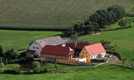 campo estilo de construcao arquitetura milho