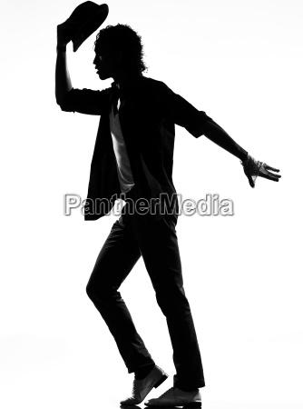 homem da danca do dancarino do