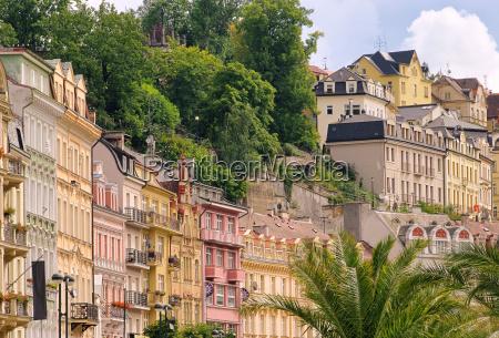 cidade fachada czechia