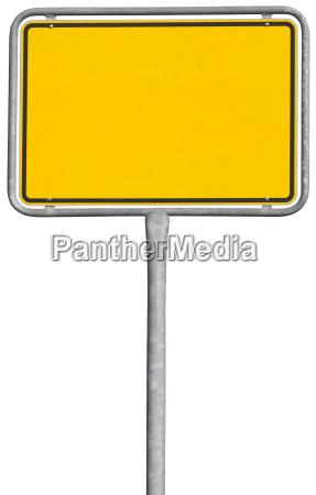 sinal amarelo colocacao trajeto de grampeamento