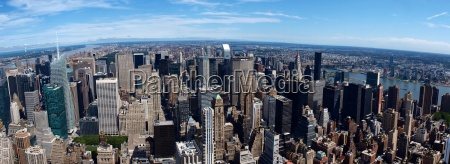 panorama de new york da skyline