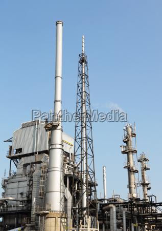 estacao azul torre ambiente industria industrial
