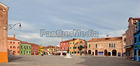 in the morning in burano