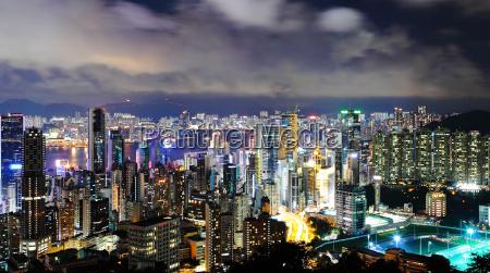 paisagem urbana moderna