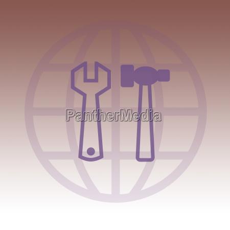 simbolico grafico ilustracao trabalho acordo negocio