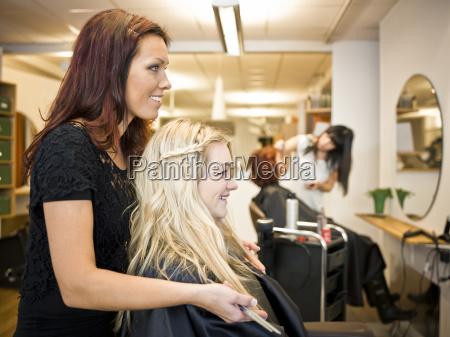 situacao do salao de cabeleireiro