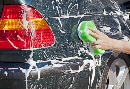 carro de lavagem