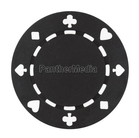 microplaqueta preta do poquer