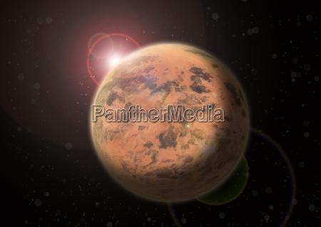 planeta vermelho