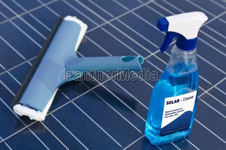 limpo celula solar limpeza limpador