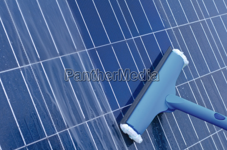 limpeza de modulos solares