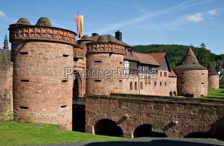 muralhas da cidade de buedingen