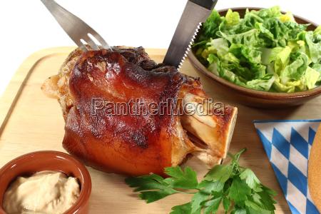 chapa baviera casca carne de porco