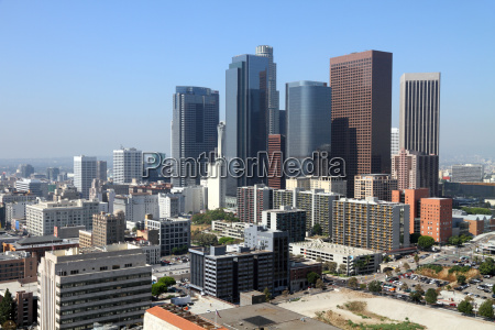 skyline da baixa de los angeles