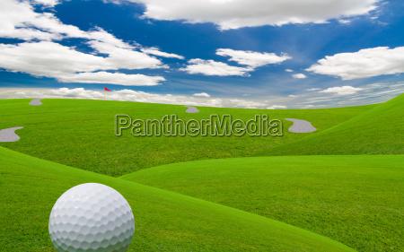 fairway de golfe