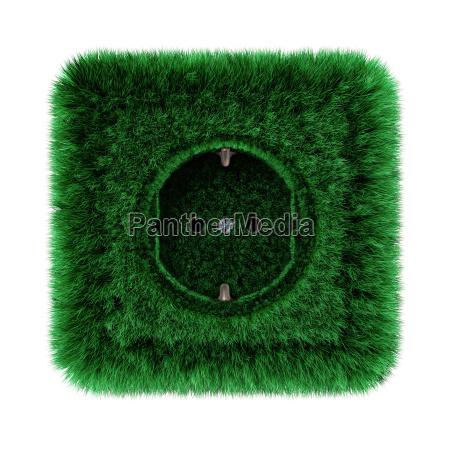 verde poder tomada eletrica prado grama